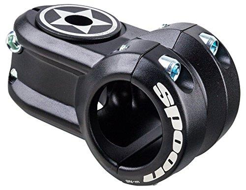 ステム パーツ 自転車 コンポーネント サイクリング STM3001 Spank Spoon 40mm Bike Stems & Parts, Blackステム パーツ 自転車 コンポーネント サイクリング STM3001