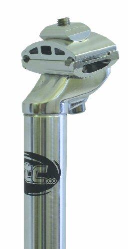 シートポスト パーツ 自転車 コンポーネント サイクリング ETC SE22 Micro Adjustable Seat Posts - Black, 25.0 x 400 mm by ETCシートポスト パーツ 自転車 コンポーネント サイクリング