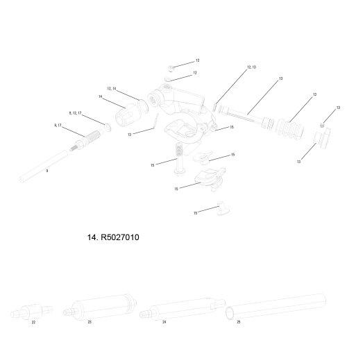 シートポスト パーツ 自転車 コンポーネント サイクリング R5027010 RockShox Remote-Lever Rsa Knob Kit, Reverb A1-11.6815.027.010シートポスト パーツ 自転車 コンポーネント サイクリング R5027010