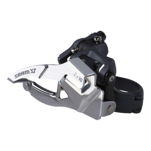 ディレイラーポスト パーツ 自転車 コンポーネント サイクリング 146397 【送料無料】SRAM X.7 2 x 10 Dual 31.8/34.9 Low-Clamp Derailleurディレイラーポスト パーツ 自転車 コンポーネント サイクリング 146397