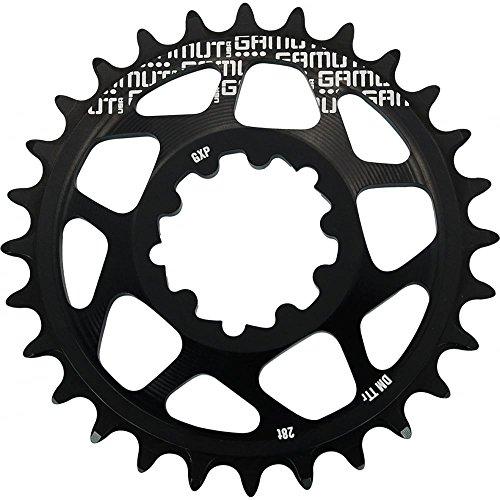 チェーンリング ギア パーツ 自転車 コンポーネント 2015 Gamut TTr Direct Chainring Black 28tチェーンリング ギア パーツ 自転車 コンポーネント