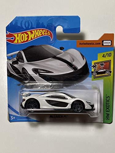 無料ラッピングでプレゼントや贈り物にも 国内在庫 逆輸入並行輸入送料込 ホットウィール マテル ミニカー ホットウイール 送料無料 Hot 4 2018ホットウィール Mclaren Wheels P1 HW Exotics おすすめ特集 10