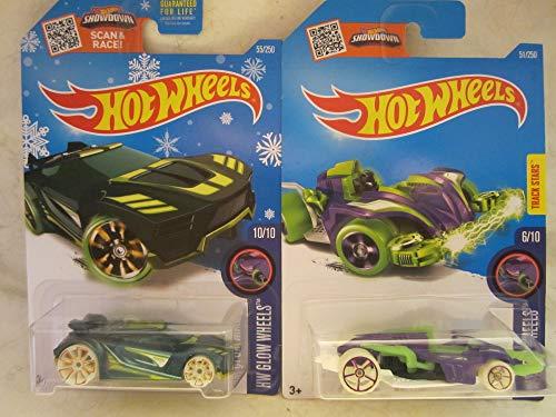 無料ラッピングでプレゼントや贈り物にも 逆輸入並行輸入送料込 ホットウィール ブランド品 新作 人気 マテル ミニカー ホットウイール 送料無料 Hot Wheels Snowflakes Exclusive HW Car 1 Wattzup 2 Scale Chicane Cast Bundle Glow Die 64