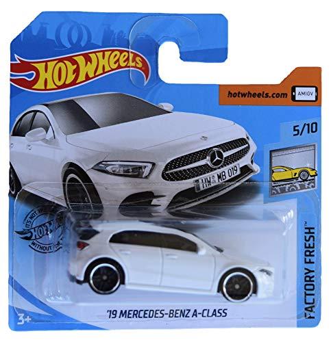 無料ラッピングでプレゼントや贈り物にも 逆輸入並行輸入送料込 ホットウィール マテル ミニカー ホットウイール 送料無料 Hot Wheels '19 ※ラッピング ※ ついに再販開始 White Mercedes Card 5 Benz Class Short 10 A