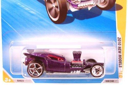 無料ラッピングでプレゼントや贈り物にも 豪華な 逆輸入並行輸入送料込 ホットウィール マテル ミニカー ホットウイール 送料無料 Hot Wheels 2010 New Models 008 on FANGULA 新作販売 44 Collectible 240 #08 Snowflake Car Purple Cardホットウィール