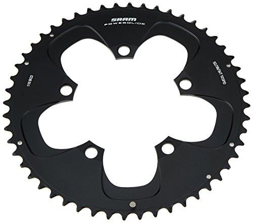 チェーンリング ギア パーツ 自転車 コンポーネント 11.6215.198.000 SRAM Chainring Red ,53T 130mm ,Blackチェーンリング ギア パーツ 自転車 コンポーネント 11.6215.198.000