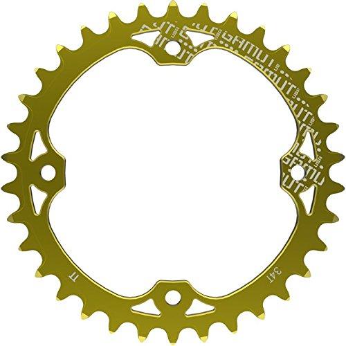 チェーンリング ギア パーツ 自転車 コンポーネント 2015 Gamut TTr Thick Thin Race Ring Chainring 9 10 11 Speed 34t (ICEBIKE Special Offer) Free Boltsチェーンリング ギア パーツ 自転車 コンポーネント