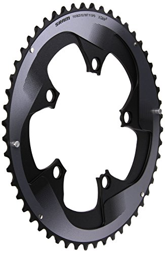 チェーンリング ギア パーツ 自転車 コンポーネント 11.6218.009.001 SRAM FRC 22 53T 130 Bcd Chain Ring Road, Blackチェーンリング ギア パーツ 自転車 コンポーネント 11.6218.009.001
