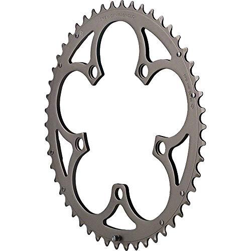 チェーンリング ギア パーツ 自転車 コンポーネント FC-RE250 Campagnolo Re, Ch 2x10sp chainring, 110BCD - 50tチェーンリング ギア パーツ 自転車 コンポーネント FC-RE250