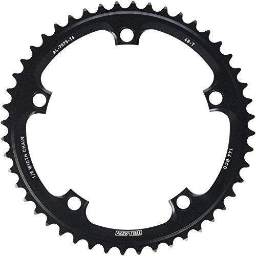 チェーンリング ギア パーツ 自転車 コンポーネント CRS48TRB SRAM Omnium Track alloy ring, 144BCD x 48t (1/8