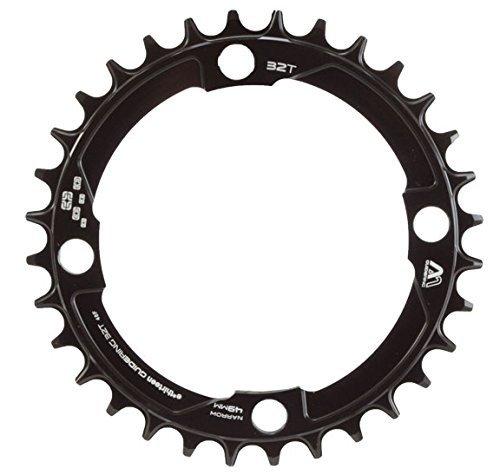 チェーンリング ギア パーツ 自転車 コンポーネント CR.M-104.32.K ethirteen Components Guidering 4 Bolt Chainring Black, 32t, Standard chainlineチェーンリング ギア パーツ 自転車 コンポーネント CR.M-104.32.K
