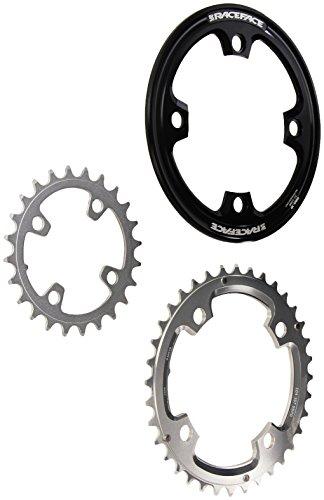 チェーンリング ギア パーツ 自転車 コンポーネント RRBS34 RaceFace Team FR Light Bash Ring (Black/Silver, 104mm 22/34)チェーンリング ギア パーツ 自転車 コンポーネント RRBS34