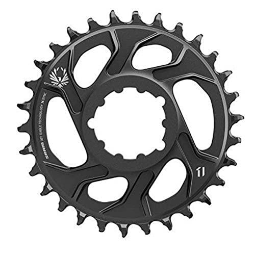 チェーンリング ギア パーツ 自転車 コンポーネント 11.6218.030.030 SRAM X-Sync 2 Eagle 12-Speed Direct Mount Chainring Black, 36T/6mm Offsetチェーンリング ギア パーツ 自転車 コンポーネント 11.6218.030.030