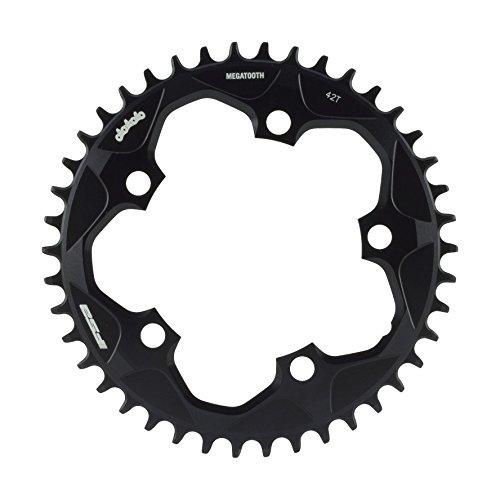 チェーンリング ギア パーツ 自転車 コンポーネント 370-0018012050 【送料無料】FSA Unisex's Mega Tooth Megatooth CX (1x11, 110Bcd, 40T, V14) Chainring-Black, 110x40T, Size 110チェーンリング ギア パーツ 自転車 コンポーネント 370-0018012050