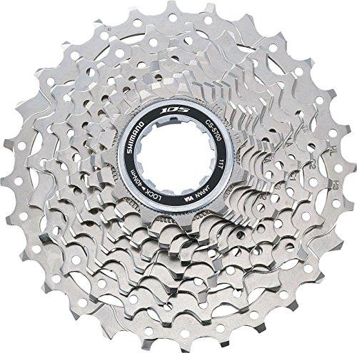 スプロケット フリーホイール ギア パーツ 自転車 CS570010128 SHIMANO cassette 105 10 speed silver (Design: 11-28 sprockets)スプロケット フリーホイール ギア パーツ 自転車 CS570010128