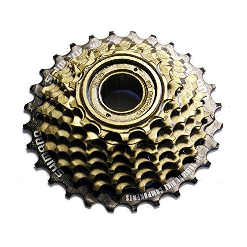 スプロケット フリーホイール ギア パーツ 自転車 Shimano MF-TZ21 7 Speed Bike Screw-On Freewheel 14-28Tスプロケット フリーホイール ギア パーツ 自転車