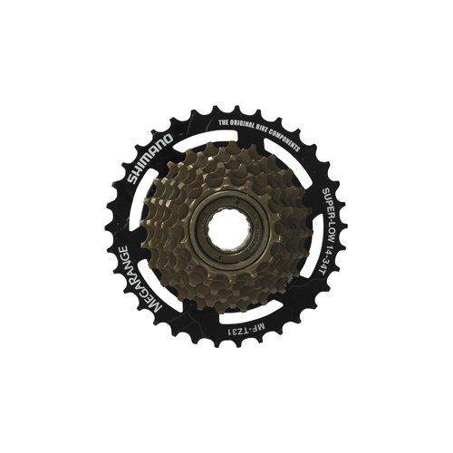 スプロケット フリーホイール ギア パーツ 自転車 Shimano Tz31 7 Speed 14/34 Freewheel by Shimanoスプロケット フリーホイール ギア パーツ 自転車