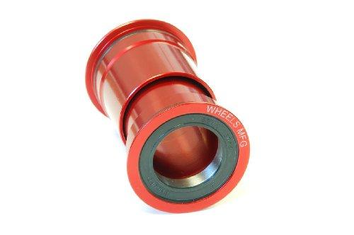 ボトムブラケット ギア パーツ 自転車 コンポーネント PF30-BB-AC Wheels Manufacturing PressFit 30 Bottom Bracket with Angular Contact Bearingsボトムブラケット ギア パーツ 自転車 コンポーネント PF30-BB-AC