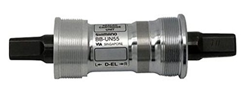ボトムブラケット ギア パーツ 自転車 コンポーネント BB-UN55 Shimano BB-UN55 Bottom Bracket - Silver, 68-107 mmボトムブラケット ギア パーツ 自転車 コンポーネント BB-UN55