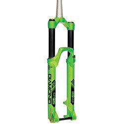 フォーク パーツ 自転車 コンポーネント サイクリング DVO Diamond tapered 15-D 27.5(650b) 140-160mm - greenフォーク パーツ 自転車 コンポーネント サイクリング