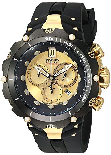インヴィクタ インビクタ リザーブ 腕時計 メンズ 14416 【送料無料】Invicta Men's 14416 Jason Taylor Analog Display Swiss Quartz Black Watchインヴィクタ インビクタ リザーブ 腕時計 メンズ 14416