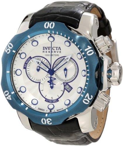 インヴィクタ インビクタ ベノム 腕時計 メンズ 10781 【送料無料】Invicta Men's 10781 Venom Reserve Chronograph Silver Textured Dial Watchインヴィクタ インビクタ ベノム 腕時計 メンズ 10781