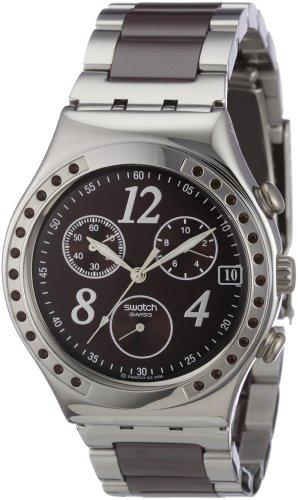 スウォッチ 腕時計 メンズ YCS526G Swatch Irony Chrono Dreambrown Chronograph Brown Dial Men's watch #YCS526Gスウォッチ 腕時計 メンズ YCS526G