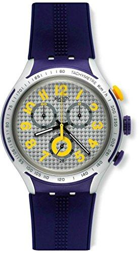 スウォッチ 腕時計 メンズ YYS4014 【送料無料】Watch Swatch Irony XLITE Chrono YYS4014 YELLOW PUSHERスウォッチ 腕時計 メンズ YYS4014
