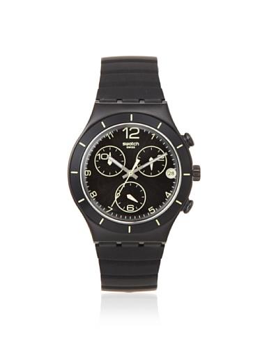 スウォッチ 腕時計 メンズ 夏の腕時計特集 YCB4021 【送料無料】Swatch Men's YCB4021 Black Silicone Watchスウォッチ 腕時計 メンズ 夏の腕時計特集 YCB4021