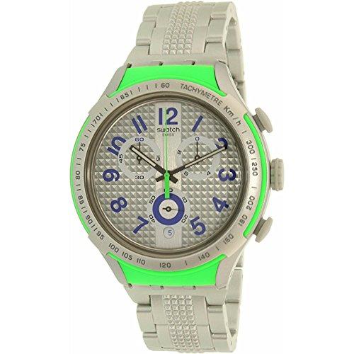 スウォッチ 腕時計 メンズ YYS4012AG Swatch Men's Xlite YYS4012AG Silver Plastic Swiss Quartz Watchスウォッチ 腕時計 メンズ YYS4012AG