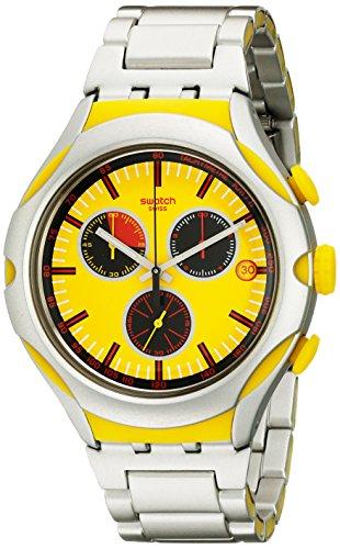 スウォッチ 腕時計 メンズ YYS4002AG Swatch Men's YYS4002AG Irony Analog Display Swiss Quartz Silver Watchスウォッチ 腕時計 メンズ YYS4002AG