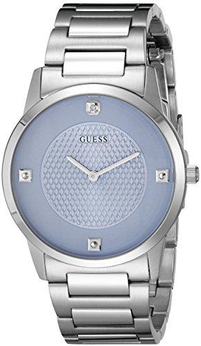 ゲス GUESS 腕時計 メンズ U0428G2 【送料無料】GUESS Men's U0428G2 Diamond-Accented Stainless Steel Watchゲス GUESS 腕時計 メンズ U0428G2