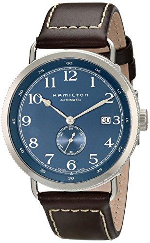 ハミルトン 腕時計 メンズ HML-H78455543 Hamilton Men's HML-H78455543 Khaki Analog Display Swiss Automatic Blue Watchハミルトン 腕時計 メンズ HML-H78455543