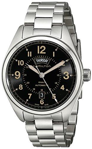 ハミルトン 腕時計 メンズ H70505933 【送料無料】Hamilton Men's H70505933 Khaki Field Analog Display Automatic Self Wind Silver Watchハミルトン 腕時計 メンズ H70505933
