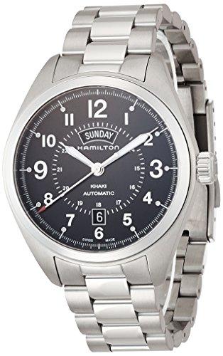 ハミルトン 腕時計 メンズ H70505133 【送料無料】Hamilton Men's H70505133 Khaki Field Analog Display Automatic Self Wind Silver Watchハミルトン 腕時計 メンズ H70505133