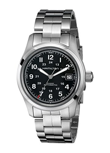 ハミルトン 腕時計 メンズ HML-H70455133 【送料無料】Hamilton Men's HML-H70455133 Khaki Field Analog Display Swiss Automatic Silver Watchハミルトン 腕時計 メンズ HML-H70455133