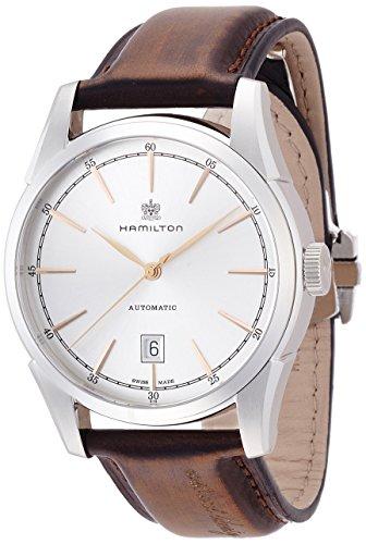 腕時計 ハミルトン メンズ H42415551 【送料無料】Hamilton Men's H42415551 American Classic Spirit of Liberty Analog Display Swiss Automatic Brown Watch腕時計 ハミルトン メンズ H42415551