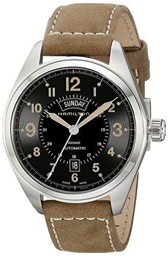 ハミルトン 腕時計 メンズ H70505833 Hamilton Men's H70505833 Khaki Field Analog Display Automatic Self Wind Brown Watchハミルトン 腕時計 メンズ H70505833