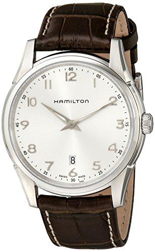 ハミルトン 腕時計 メンズ H38511553 Hamilton Men's H38511553 Jazzmaster Thinline Silver Dial Watchハミルトン 腕時計 メンズ H38511553