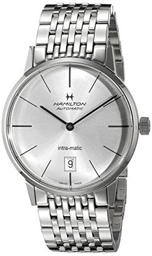 ハミルトン 腕時計 メンズ H38455151 【送料無料】Hamilton Men's H38455151 American Classic Analog Display Swiss Automatic Silver Watchハミルトン 腕時計 メンズ H38455151