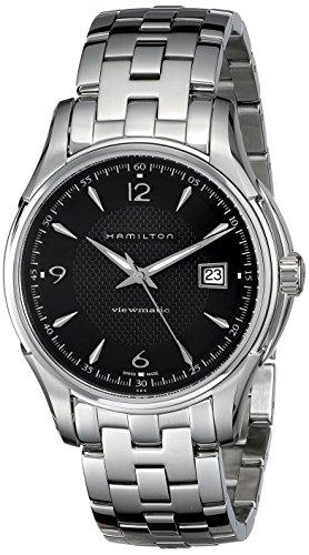 ハミルトン 腕時計 メンズ H32515135 【送料無料】Hamilton Men's H32515135 Jazzmaster Viewmatic Black Guilloche Dial Watchハミルトン 腕時計 メンズ H32515135
