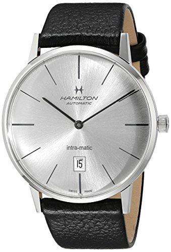 腕時計 ハミルトン メンズ H38755751 【送料無料】Hamilton Men's H38755751 American Classic Analog Display Swiss Automatic Black Watch腕時計 ハミルトン メンズ H38755751