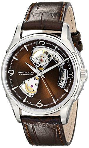 ハミルトン 腕時計 メンズ H32565595 【送料無料】Hamilton Men's H32565595 Open Heart Marron Open Dial Watchハミルトン 腕時計 メンズ H32565595