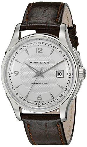 ハミルトン 腕時計 メンズ H32515555 【送料無料】Hamilton Men's H32515555 Jazzmaster Silver Dial Watchハミルトン 腕時計 メンズ H32515555