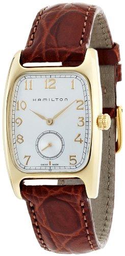 ハミルトン 腕時計 メンズ H13431553 【送料無料】Hamilton Men's H13431553 Boulton Silver Dial Watchハミルトン 腕時計 メンズ H13431553