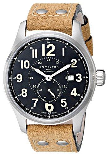 ハミルトン 腕時計 メンズ H70655733 Hamilton Men's H70655733 Khaki Officer GMT Watchハミルトン 腕時計 メンズ H70655733