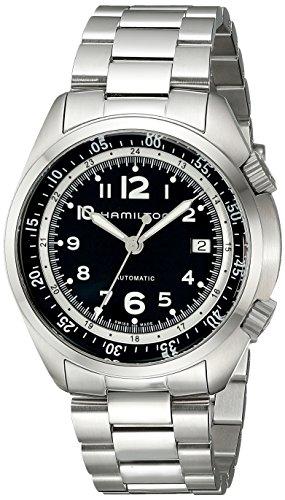 腕時計 ハミルトン メンズ H76455133 【送料無料】Hamilton Men's H76455133 Khaki Aviation Stainless Steel Watch腕時計 ハミルトン メンズ H76455133
