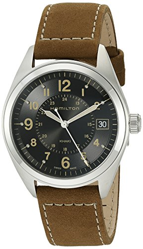 ハミルトン 腕時計 メンズ H68551833 【送料無料】Hamilton Men's H68551833 Khaki Field Analog Quartz Brown Watchハミルトン 腕時計 メンズ H68551833