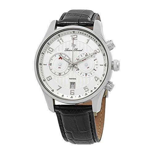 ルシアンピカール 腕時計 メンズ LP-11187-02S 【送料無料】Lucien Piccard Navona GMT Silver Dial Men's Watch 11187-02Sルシアンピカール 腕時計 メンズ LP-11187-02S