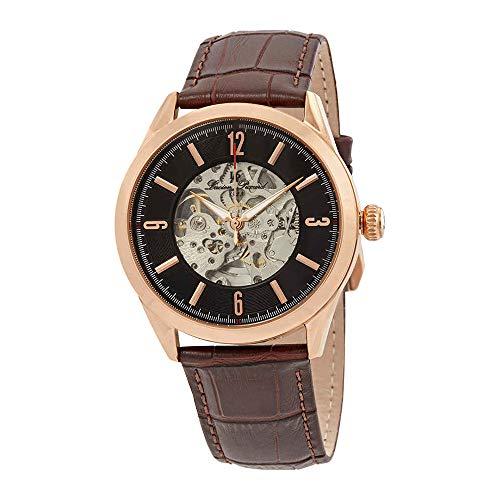 ルシアンピカール 腕時計 メンズ LP-10660A-RG-01-BRW 【送料無料】Lucien Piccard Loft Automatic Skeleton Men's Watch LP-10660A-RG-01-BRWルシアンピカール 腕時計 メンズ LP-10660A-RG-01-BRW